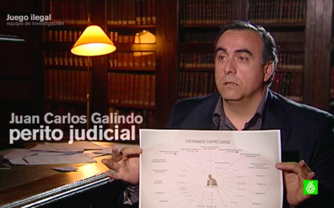 El dinero termina en el entramado empresarial de Dionisio González
